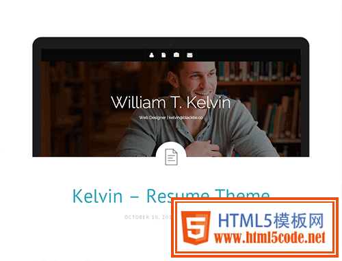 Bootstrap主题 - kelvin