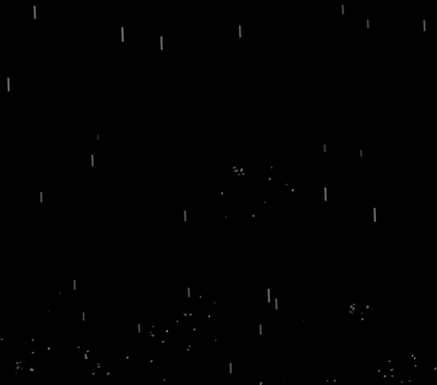 html5 canvas跟随鼠标刮风下雨动画特效