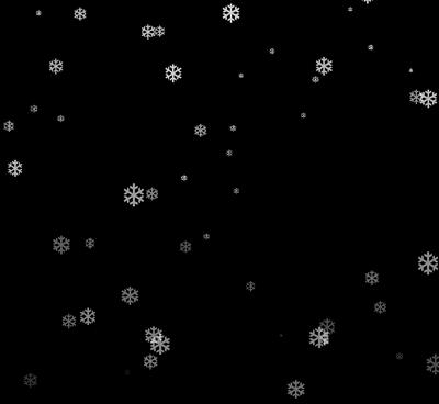 jQuery网页屏幕上雪花飘落动画特效