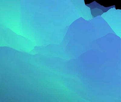html5 canvas水墨风格的云雾动画特效