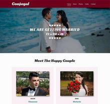 婚纱摄影工作室html静态网站模板下载