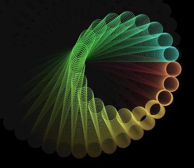 html5 canvas绘制曲线动画特效