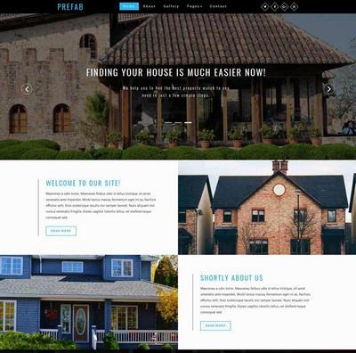 国外别墅出租信息网站静态模板