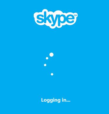 css3仿Skype旋转加载动画特效