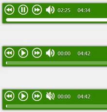 html5仿音乐网站歌曲播放器插件