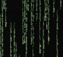 html5 canvas黑客帝国代码雨动画特效