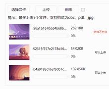 html5图片文件上传队列插件