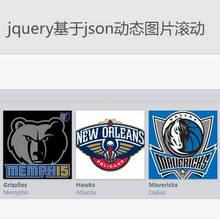 jQuery基于json动态获取图片滚动插件代码
