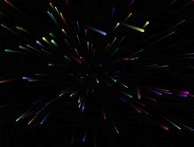 html5 canvas彩色扩散粒子动画特效