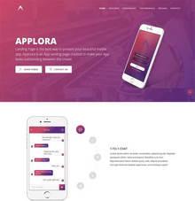 大气的手机社交软件app官网模板