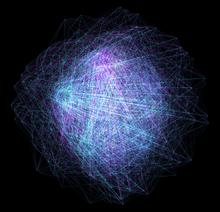 html5 canvas抽象的花纹动画特效