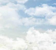 css3空中飘动的云层背景动画特效