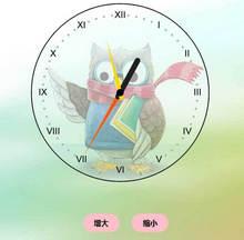 html5 canvas创意的猫头鹰时钟代码
