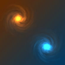 html5 canvas虫洞旋涡动画特效