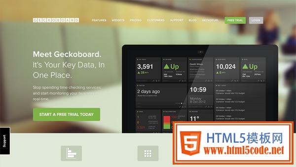 html5免费模板