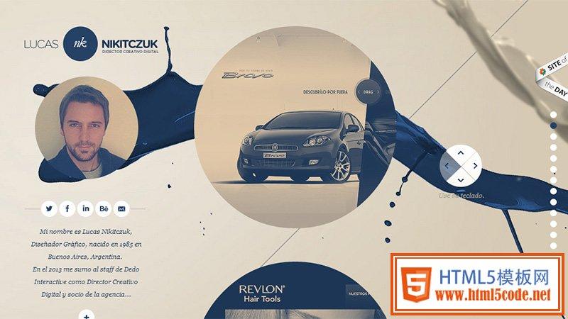 网页设计 > 最新潮的24组获奖网页作品欣赏