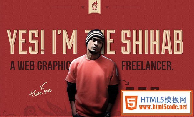 freelance web graphics designer shihab india